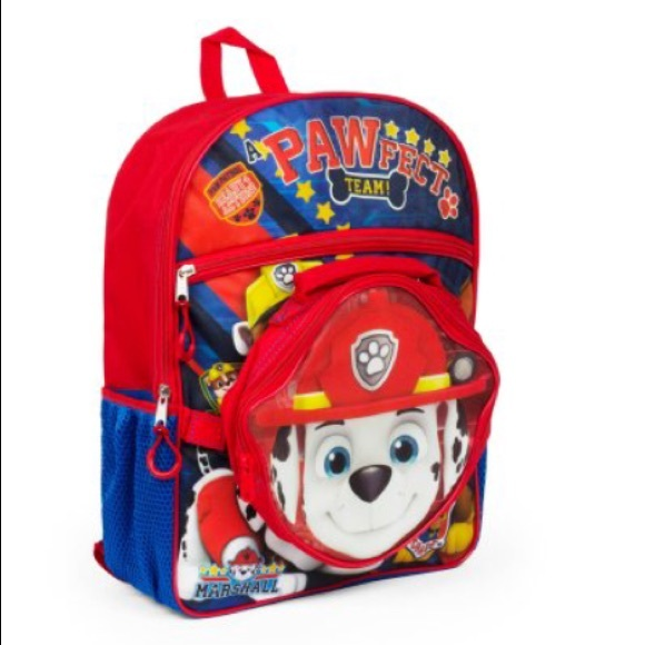 e0de549ae7 Paw Patrol Backpack with lunch kit